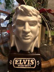 Elvis 1935-1977 Collector's Bust Decanter