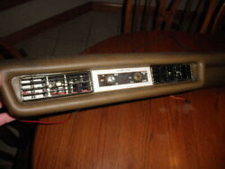 Nice Used Mercedes W108,109 Thermo-king Lower Dash A/c Control Panel W/switches