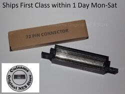 72 Pin Connector Cartridge Replacement Part For Nintendo Nes System Tight Fit