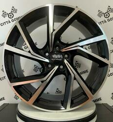 4 Alloy Wheels Compatible For Peugeot 3008 308 407 5008 508 607 Mens 18 New