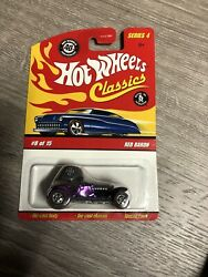 Hot Wheels Classics Series 4 Red Baron 8/15 Purple 1/64 Scale New Toy Car