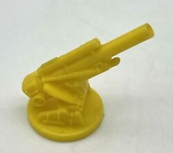 Vintage Marx Navarone Army Mountain Playset Short Cannon Replacement Yellow