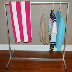 Light Weight 1 Square Tube Aluminum Rack 43 H X 42 W Snap Fit Assembly Usa