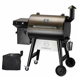 7002f 2021 Upgrade Wood Pellet Grill And Smoker For Outdoor Cooking 8 In 1 Bbq