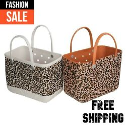 Bogg Bag Beach Bags Basket Women Style Shoulder Lady For Shopping Beach NEW Gift $71.99