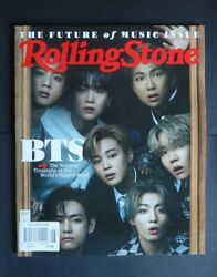 Rolling Stone Magazine 1352 June 2021 Usa Cover Bts. The Future Of Music Issue