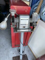 Vintage Sears 1/2hp Bench Grinder On Stand Local Pick Up Can Ship W/ No Stand