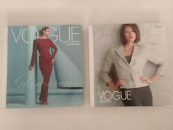 Lot Of 2 Vogue Patterns Countertop Books - Spring 2006 And Winter/holiday 2005