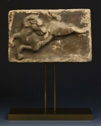 Song Dynasty Rare Antique Chinese Pottery Goat Panel