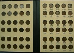Complete Set 1909-1958 Lincoln Wheat Cents Includes 1909-s Vdb 1914-d 1931-s