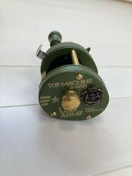 Fishing Reel Frog Products Toy Machine Military S-0269 Left-handed Unused 408/ak
