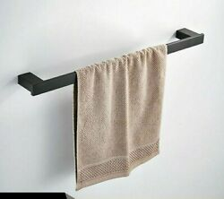 Stainless Steel Towel Shelf Roll Paper Holder Wall Mounted Toothbrush Holder