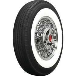 Coker Tire 710r15 American Classic Tire Bias-look Radial 2.75 Whitewall