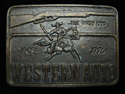 Pl03121 Vintage 1976 The Daisy 1000 Western Auto Rifle And Gun Belt Buckle