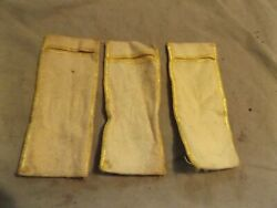 3 Small Silver Bags to keep Sterling Items from Tarnishing Jewelry Silverware $2.99