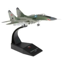 1/72 Mig-29 Diecast Military Model Plane And Dispaly Stand Home Ornaments