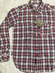 Engineered Garments Work Shirts Madras Check Long Sleeve Size S Mens New