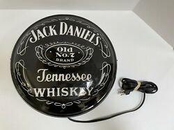 """Jack Daniels Whiskey Light Up Sign Bar Garage Man Cave 14"""" Electric Wall Sign"""
