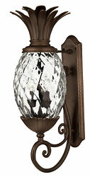 Hinkley Lighting H2224 28h 3 Light Outdoor Wall Sconce - Multicolor