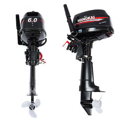 2-stroke Outboard Motor 6.0hp Boat Engine Short Shaft Cdi Water Cool System Ce