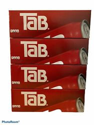 Lot Of 4 Tab Cola Fridge Pack 12-pack Tab Soda - 48 Total Cans Exp 5/10/2021