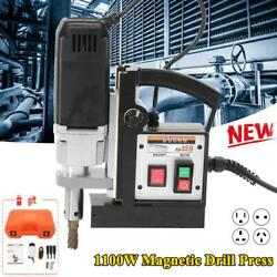 Magnetic Drill Industrial Drilling Press Machine With Carry Case Power Tool Part