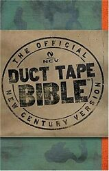 Duct Tape Bible-ncv Paperback / Softback Book The Fast Free Shipping