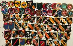 Patch , 60 Patches Free 13 , Beret Flashes , Recon , Arvn , Usn , Ussf