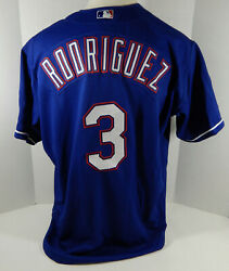 Texas Rangers Alex Rodriguez 3 Authentic Blue Jersey Rawlings Nwt 52 679