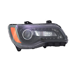 Ch2503235 New Factory Passenger Side Halogen Head Lamp Assembly