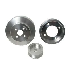 Bbk Performance 3 Piece Underdrive Pulley Kit 1994-1995 Mustang 5.0l 1554