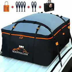 Roofpax Car Roof Bag And Rooftop Cargo Carrier. 19 Cubic Feet. 100 Waterproof Exc