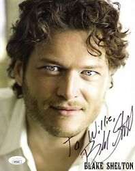 Blake Shelton Autographed Signed 8x10 Photo 2008 Country Music Jsa Certified