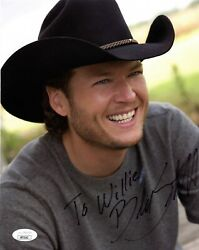 Blake Shelton Autographed Signed 8x10 Photo 2007 Country Music Jsa Certified