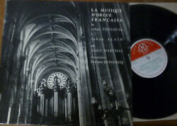 Andre Marchal French Music For Organ Titelouze - Alain ../ Cnd