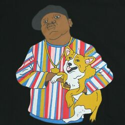 Dog Limited Biggie Rappers With Dogs Menand039s T-shirt Nwot Black Tee Xl New No Tags