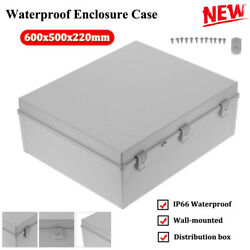 Waterproof Enclosure Case Outdoors Electrical Project Junction Box 600x500x220mm