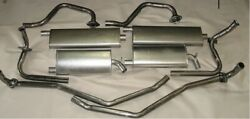 1967-1970 Buick Riviera Dual Exhaust System Aluminized With Resonators