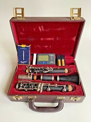 Buffet Crampon E11 Bb Wood Clarinet Repadded, Serviced Made In Germany + Extras