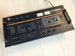 Vestax Dsm 330s Black Vintage Dj Mixer Shipped From Japan Sold As Is Free Ship