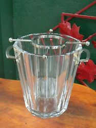 Bucket To Champagne Crystal Of Baccarat Model Maxim Stamped