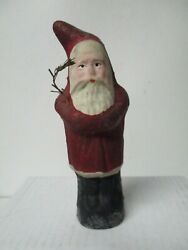 Nice 6 1/2 Tall - Germany Christmas Belsnickle Santa Claus