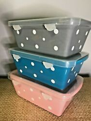 Temp-tations Set Of 3 Mini Loaf Pans With Gift Boxes