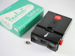 Stereo Realist Red Button Slide Viewer Serviced By Drt Led Bulb 5