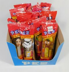 24 New Pez Candy And Dispensers Batman Wolverine Tmnt Star Wars Sealed 1990s