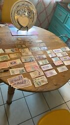 Lot Of Different World Currency Paper Banknotes - Some Uncirculated