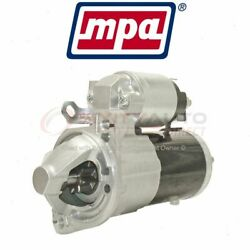 Mpa Starter Motor For 2006-2012 Mitsubishi Eclipse - Electrical Charging Dw