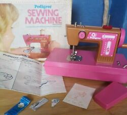 Vintage Pedigree Childs Battery Operated Sewing Machine Boxed