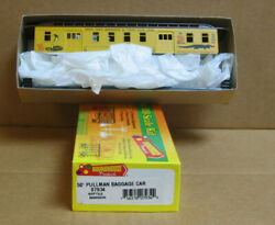 Roundhouse/mdc 07934 Ho 50' Pullman Baggage Car Reptile Mansion Circus