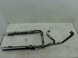 2008 2009 Victory Vision Exhaust Muffler System Header Pipe Touring Street Ness